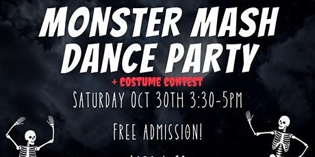Monster Mash Dance Party tickets