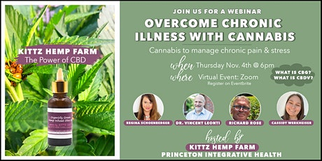 Overcome Chronic Pain with Cannabis tickets