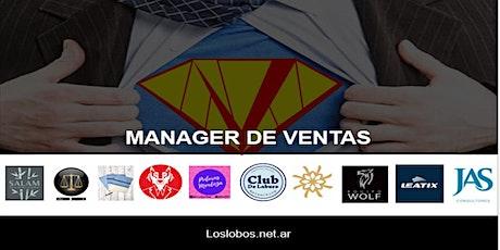 MANAGER DE VENTAS - Curso con inmediata salida laboral boletos