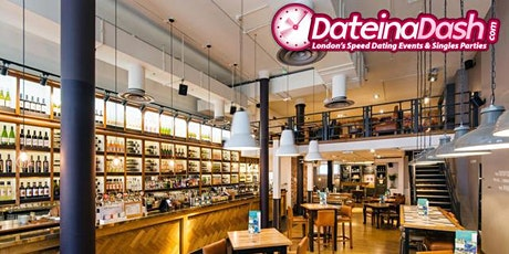 Speed Dating Event in London @ All Bar One, City of London (Ages 42-58) tickets