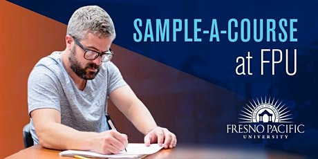 Sample-A-Course: M.A. in Strategic & Organizational Leadership tickets