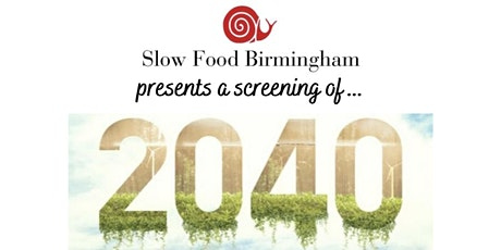 Food for Thought - 2040 screening tickets