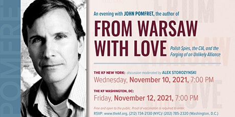 From Warsaw with Love - an evening with the author John Pomfret tickets