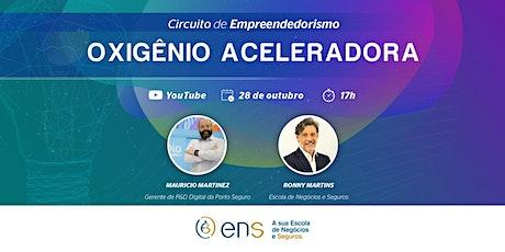 Circuito de Empreendedorismo Insurtech Live 10 bilhetes