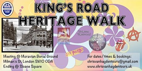 King's Road Heritage Walk tickets