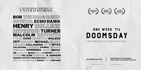 One Week 'Til Doomsday Documentary Premiere | Los Angeles, California tickets