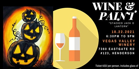 Wine and Paint Night @ Vegas Valley Winery tickets
