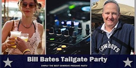 Bill Bates Tailgate Party (Cardinals at Cowboys) tickets