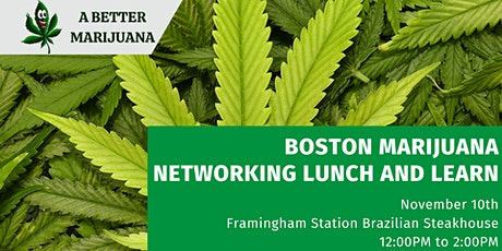 Boston Marijuana Networking Lunch and Learn tickets