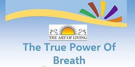 True Power of Breath tickets