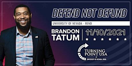 Defend not Defund with Officer Brandon Tatum tickets