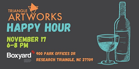 Triangle ArtWorks Happy Hour tickets