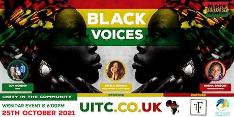 BHM: Black Voices tickets