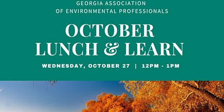 GAEP October Lunch & Learn tickets