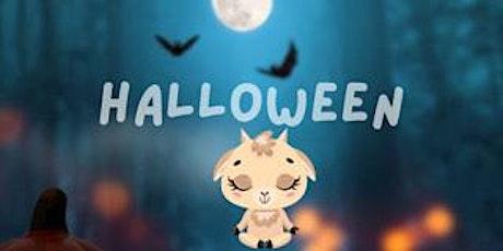 Halloween Goat Yoga with Drśāna Yoga @ Fitgers tickets