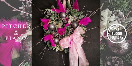 Christmas Wreath Workshop at Pitcher and Piano Tunbridge Wells tickets
