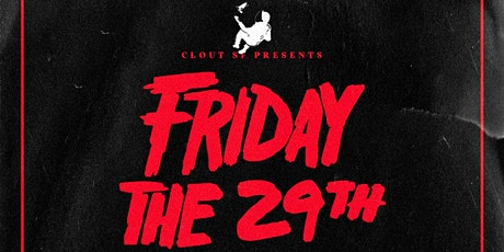 FRIDAY the 29th Halloween event. tickets