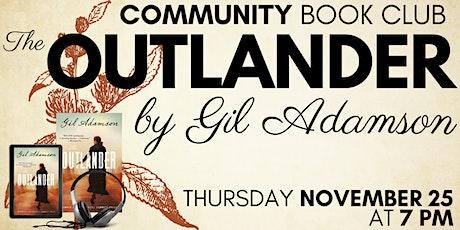Community Book Club November: The Outlander tickets