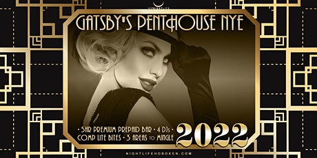 Hoboken New Year's Eve Party 2022 - Gatsby's Penthouse tickets
