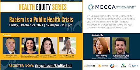 Racism is a Public Health Crisis tickets