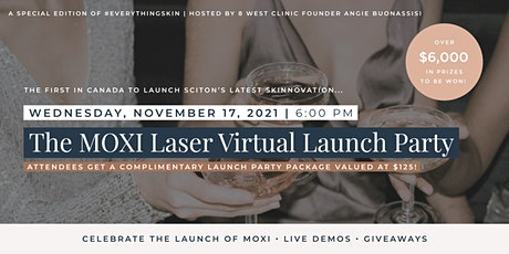 MOXI Laser Virtual Launch Party tickets