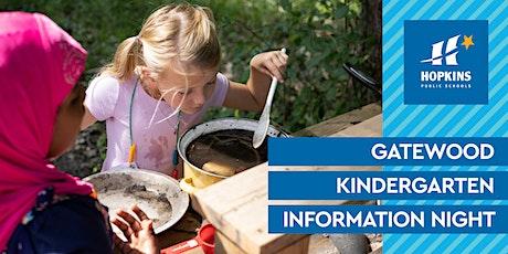 Gatewood Elementary Virtual Kindergarten Information Night tickets