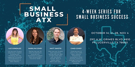 Small Business ATX- Business Training Series for Business Success tickets