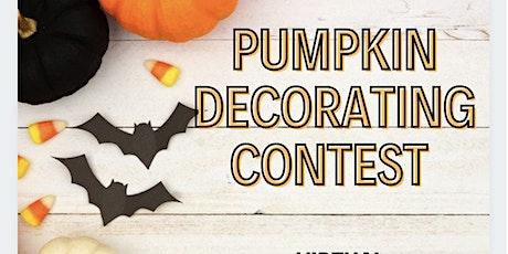 Virtual Pumpkin Decorating Contest tickets