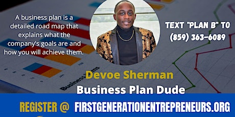 Why You Need A Business Plan tickets