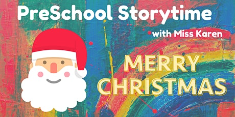 PreSchool Storytime: Merry Christmas tickets