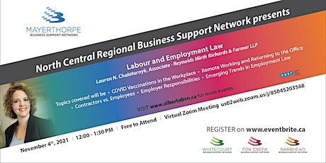 North Central Regional Business Support Network presents tickets