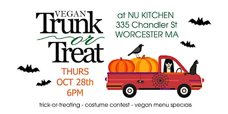 Vegan Trunk-Or-Treat Worcester MA tickets