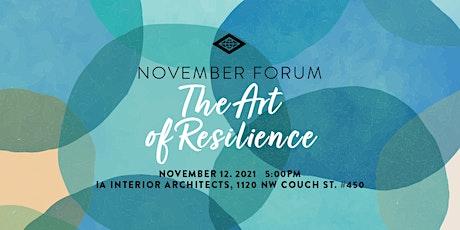 IIDA Oregon Chapter - 2021 November Forum_Sponsorship tickets
