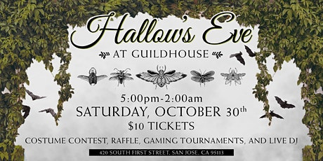 Hallow's Eve: A Gaming, Cosplay, and DJ Halloween Party by Guildhouse tickets