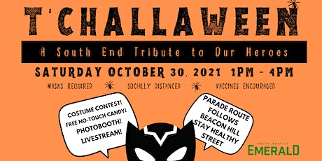 T'Challaween — A South End Tribute to Our Heroes tickets