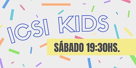 Copia de ICSI Kids Escuelita - Sábado 19:30hs entradas