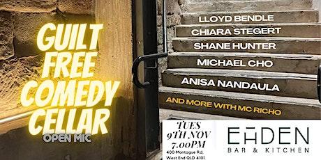 Guilt Free Comedy Cellar Open Mic tickets