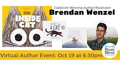 "Virtual Event: Author Brendan Wenzel Presents ""Inside Cat"" tickets"