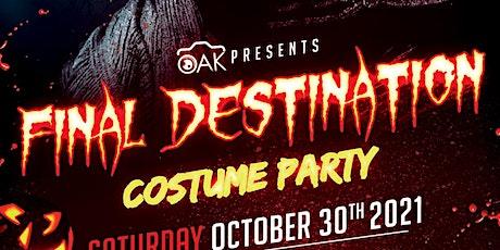 Final Destination Costume Party tickets