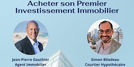 Acheter son Premier Investissement Immobilier tickets