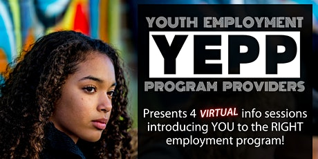 Employment Programs for Youth not in school tickets