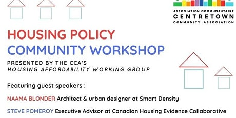 Housing Policy Community Workshop tickets