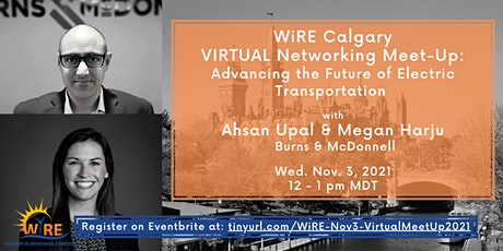 Virtual Networking Meet-Up w WiRE Calgary: Future of Electric Transport tickets