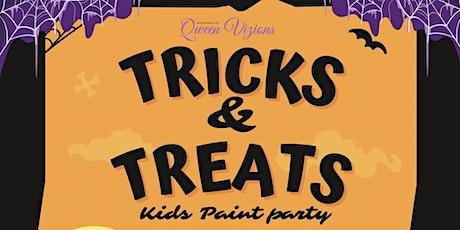 Tricks & Treats: Kids Paint Party tickets