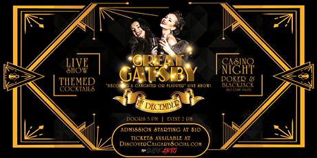 Great Gatsby - Becoming a Gangster Show & Casino Night tickets