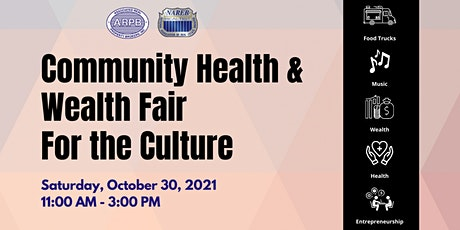 Community Health & Wealth Fair-For the Culture tickets