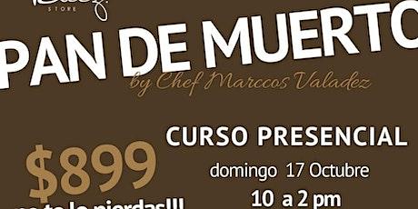 Pan de Muerto de Guayaba y Mantequilla con Chef Marcos Valadez entradas