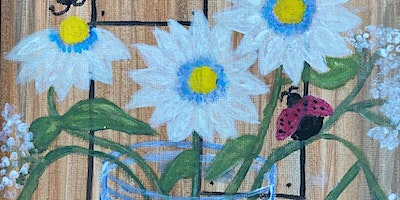 ONLINE Paint Along @ Home — Daisies