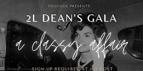 2L Deans Gala tickets