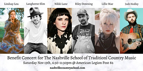 Benefit Concert for The Nashville School of Traditional Country Music tickets